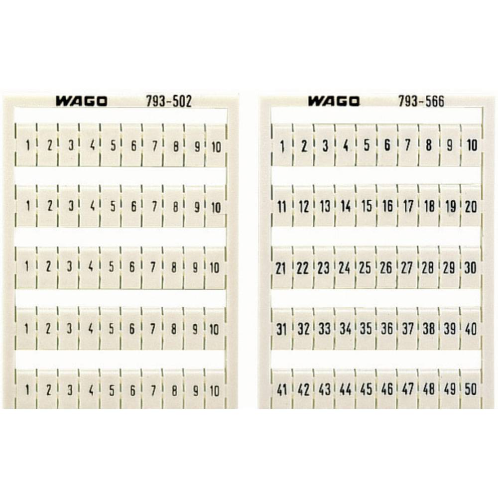 WAGO 793-5602 WMB-identification Cards Compatible with: WAGO through terms/clamps Series 2002 - 2016