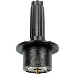 Dobbelt stik Stäubli MSA/SHZ-CATIV Fjedrende kontaktspids Tilslutning 4 mm Sort 1 stk