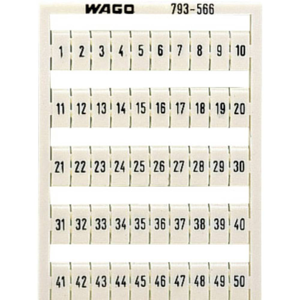 WAGO 793-5570 WMB-identification Cards Compatible with: WAGO through terms/clamps Series 2002 - 2016