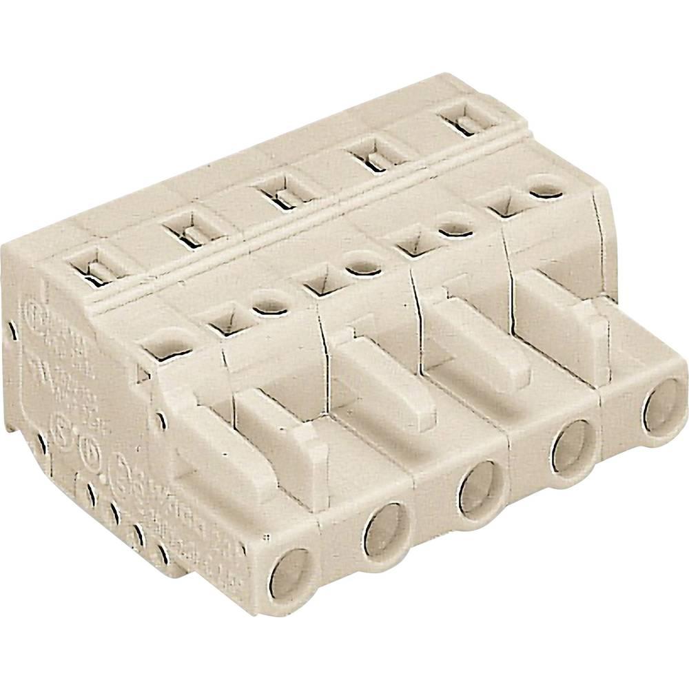 Tilslutningskabinet-kabel 721 (value.1361061) Samlet antal poler 5 WAGO 721-205/026-000 Rastermål: 7.50 mm 1 stk