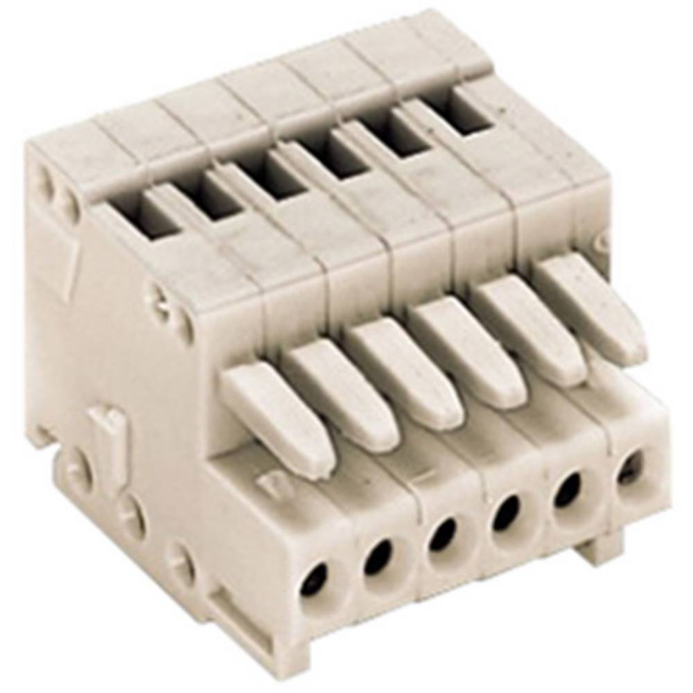 Ohišje vtičnice - kabel 733 št. polov skupaj 3 WAGO 733-103 mere: 2.50 mm 1 kosov