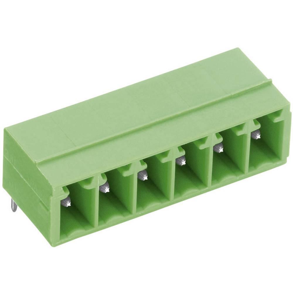 Horizontalni večpinski konektor serije STL(Z)1550-H, raster:3.5 mm, 9 A, zelen, PTR 51550065001E