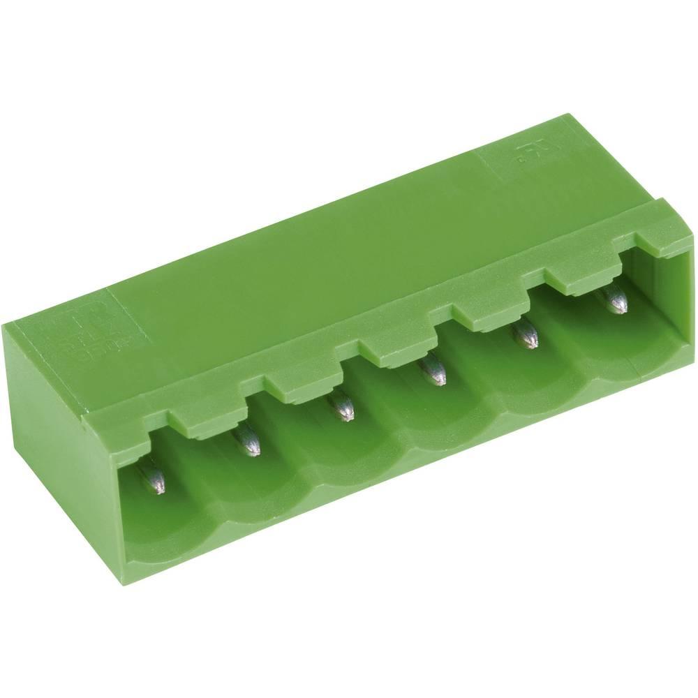 Horizontalni večpinski konektor serije STL(Z)950-H, raster:5.0 mm, 12 A, zelen, PTR 50950035001F