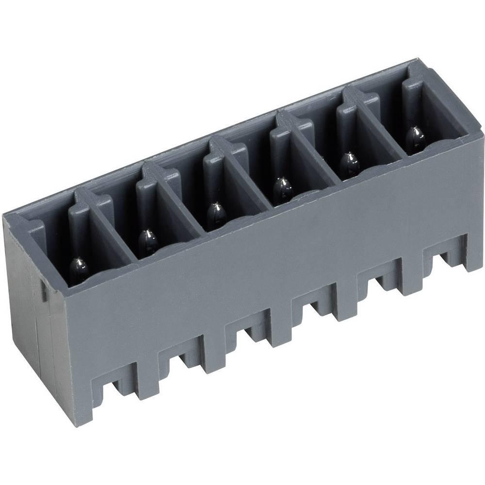 Vertikalni večpinski konektorserije STLZ1550-V, raster: 3.81mm, 10 A, bazaltno siv, PTR 51550025335F