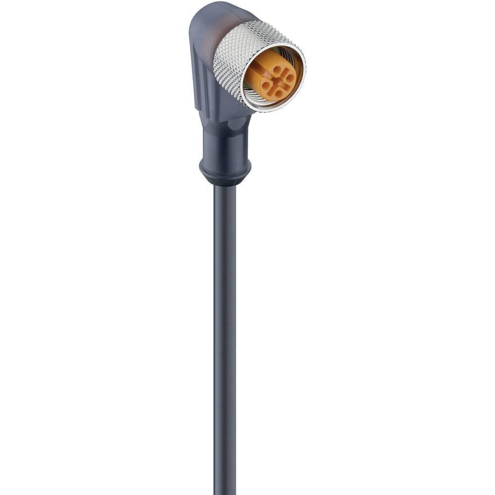 Aktuatorsko-senzorski priključni kabel, M12-vtič, raven št.polov: 4 RKWT 4-225/2 M Lumberg Automation vsebina: 1 kos