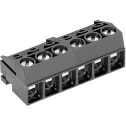Tilslutningskabinet-kabel AK130 (value.1360657) Samlet antal poler 4 PTR 50130040001G Rastermål: 5 mm 1 stk