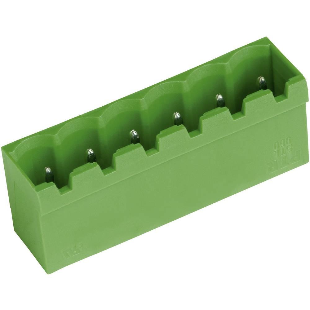 Stiftkabinet-printplade STL(Z)950 (value.1361012) Samlet antal poler 6 PTR 50950065121E Rastermål: 5.08 mm 1 stk