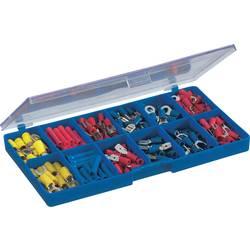 Sortiment ploščatih konektorjev 0.5 mm² 2.5 mm² modre barve, rumene barve, rdeče barve TRU COMPONENTS 732038 450 kosov