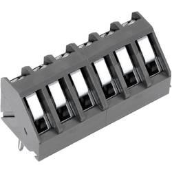Skrueklemmeblok PTR AKZ300/3-5.0 1.50 mm² Poltal 3 Grå 1 stk