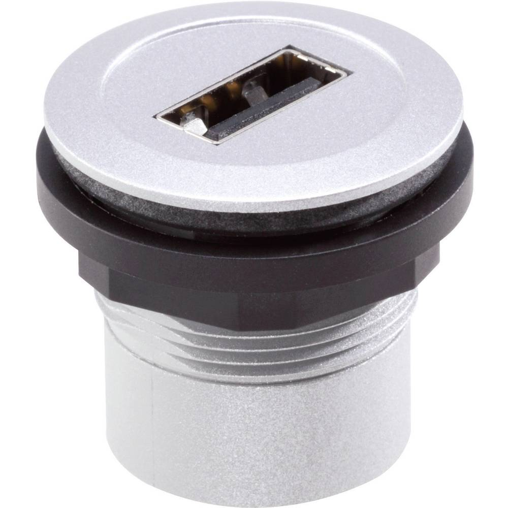 Schlegel RRJ_USB_AB USB 2.0 Metal 1 stk