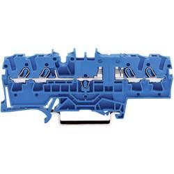 WAGO 2002-1804 4-conductor Through Terminal 0.25 -2.5 mm² Blue 1 pc(s)