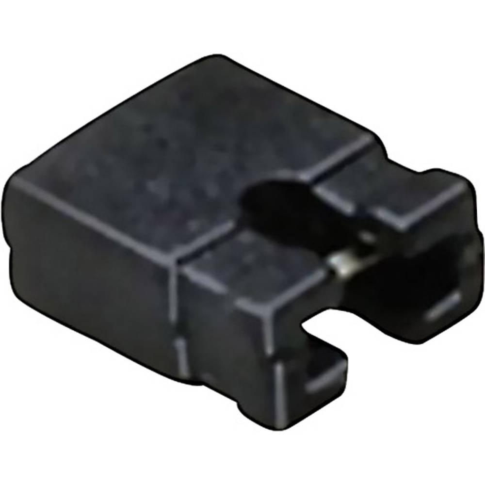 Kortslutningsbro Rastermål: 2 mm Poltal hver række:2 BKL Electronic 10120902 Indhold: 1 stk