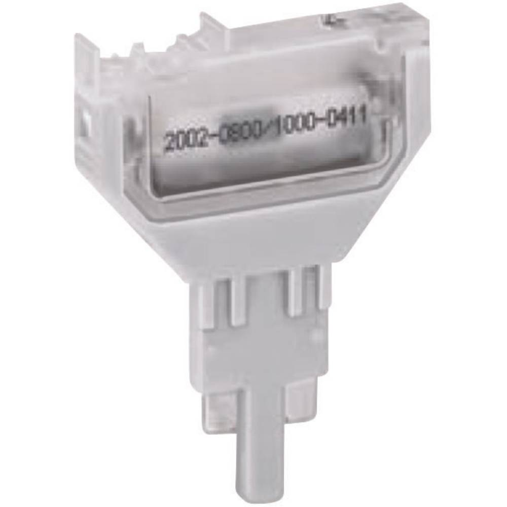 WAGO 2002-800 Empty Plug, Unloaded Compatible with: Basis terminal 2002-1661, 2002-1861