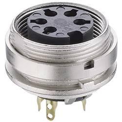 DIN-rundstik Lumberg KGV 70 Poltal 7 Sølv 1 stk
