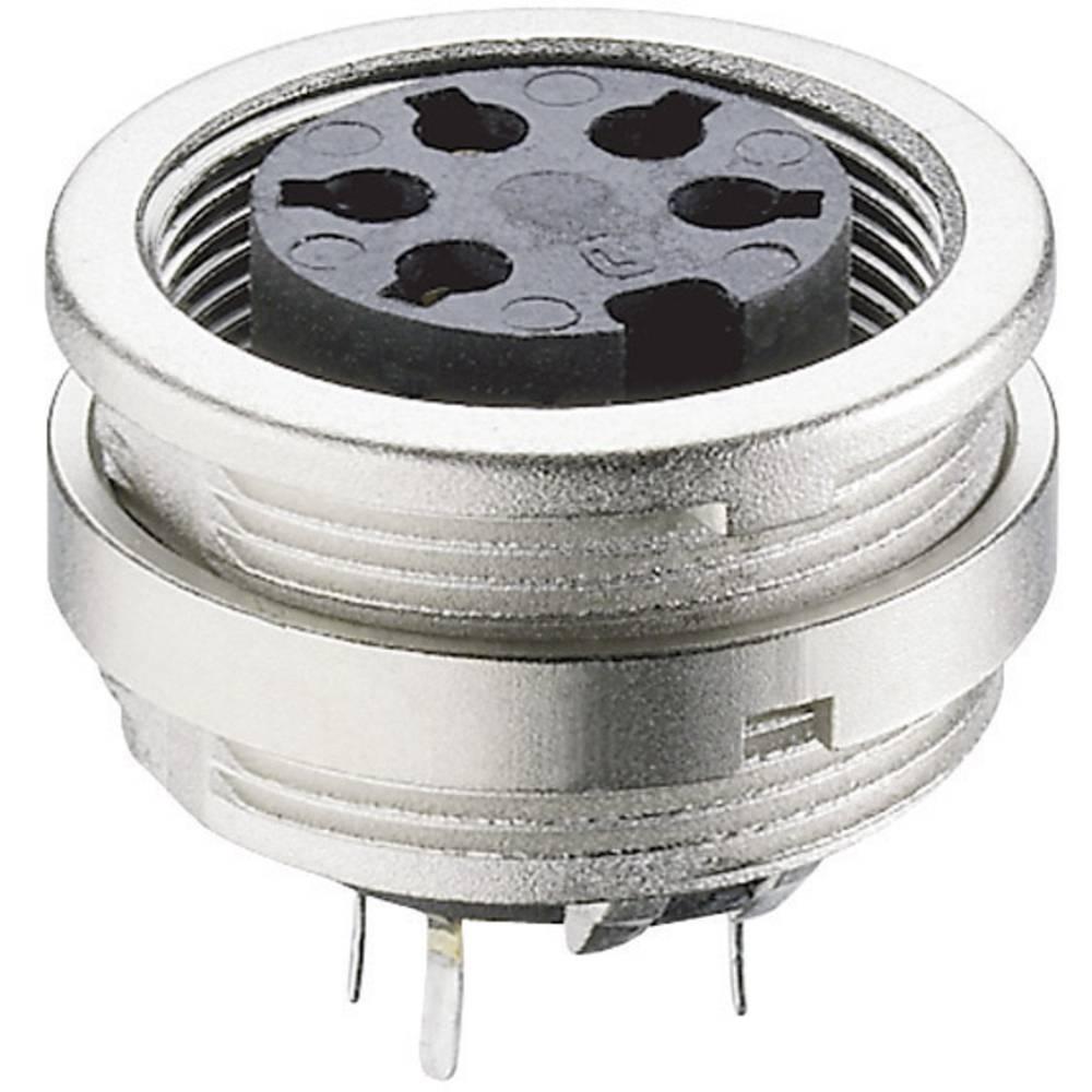 DIN-Vgradni konektor za tiskana vezja, montaža spredaj, št.polov: 7 KFR 71 Lumberg