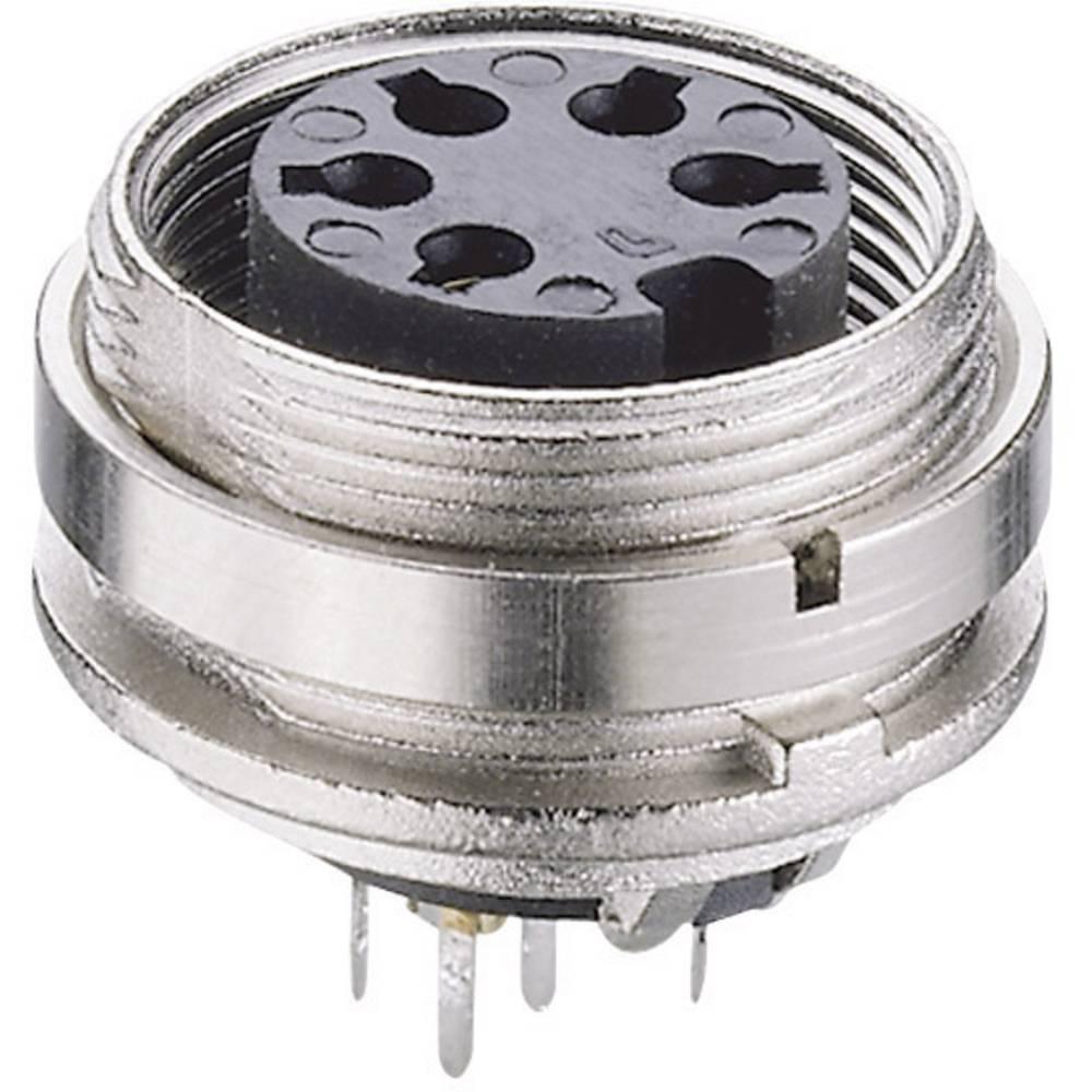 DIN-Vgradni konektor za tiskana vezja, montaža na hrbtni strani, št. polov: 8 KGR 81 Lumbe Lumberg