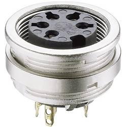 DIN-rundstik Lumberg KFV 30 Poltal 3 Sølv 1 stk