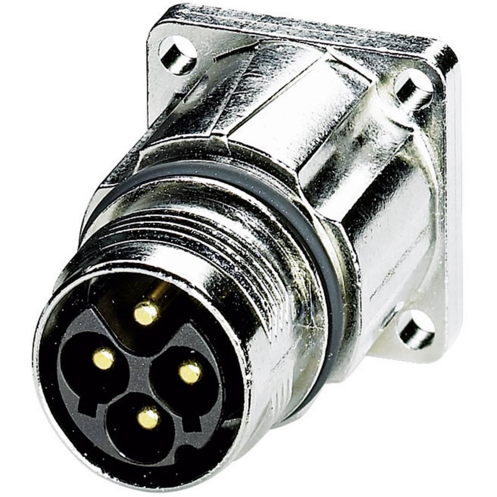 Močnostni konektor Coninvers power M17 - M P20, ST-3EP1N8AWQ00S, srebrn, vsebina: 1 kos 1607675