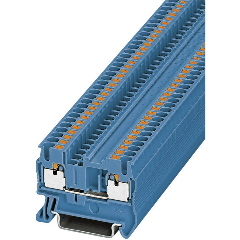 Push-In gennem terminalerne PT PT 2,5 BU Phoenix Contact Blå Indhold: 1 stk
