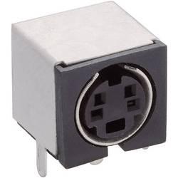 Miniaturni vgradni konektor Število polov=4 Print priključek, kotni TM 0508 A/4 Lumberg