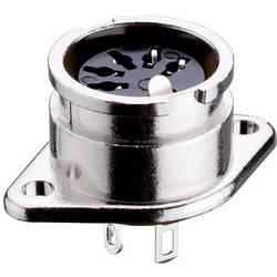 DIN-rundstik Lumberg 0107 08-1 Poltal 8 Sølv 1 stk