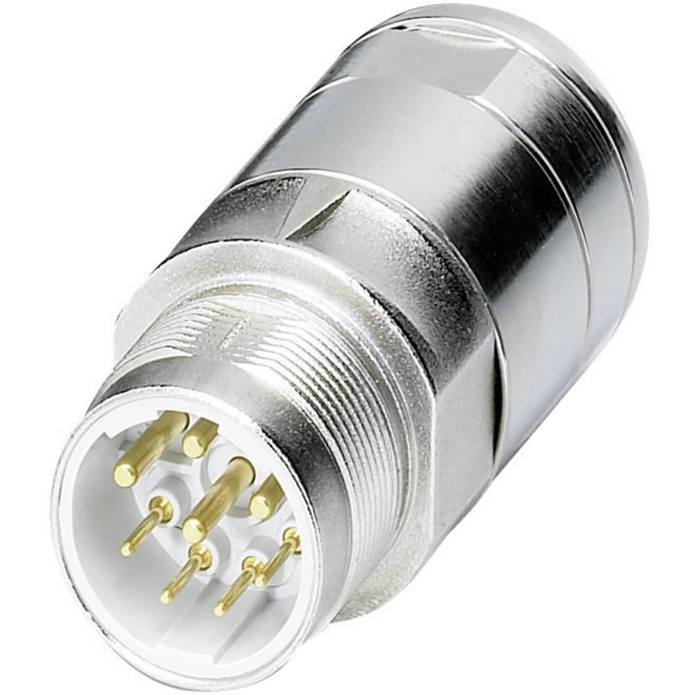 Močnostni konektor Coninvers power M23 - serije P30, SF-7EP1N8A90DU, srebrn, 1 kos 1605575