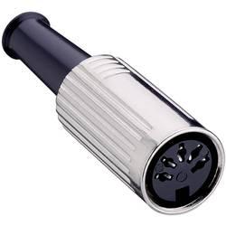 DIN-rundstik Lumberg 0121 06 Poltal 6 Sølv 1 stk