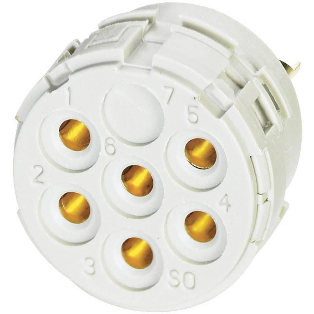 Kontaktni vložek s spajkalnimi kontakti Coninvers RC-09S1N120000, za serijo RC, UC in TC 1595791