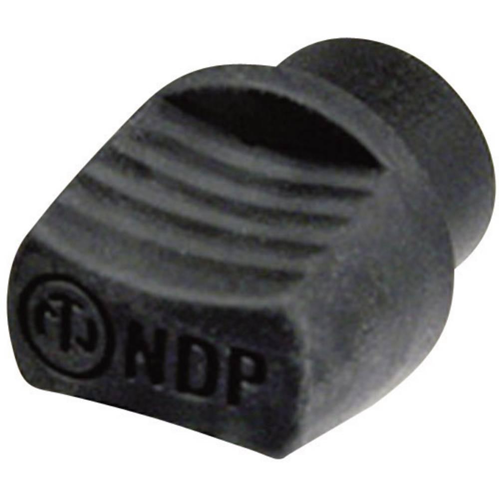 Slepi čep Neutrik NDP dummyPLUG, črne barve, vsebina: 1 kos