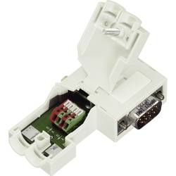 Sensor-/Aktor-datastikforbinder Stik, vinklet Pol-tal (RJ): 9 WAGO 750-971 1 stk