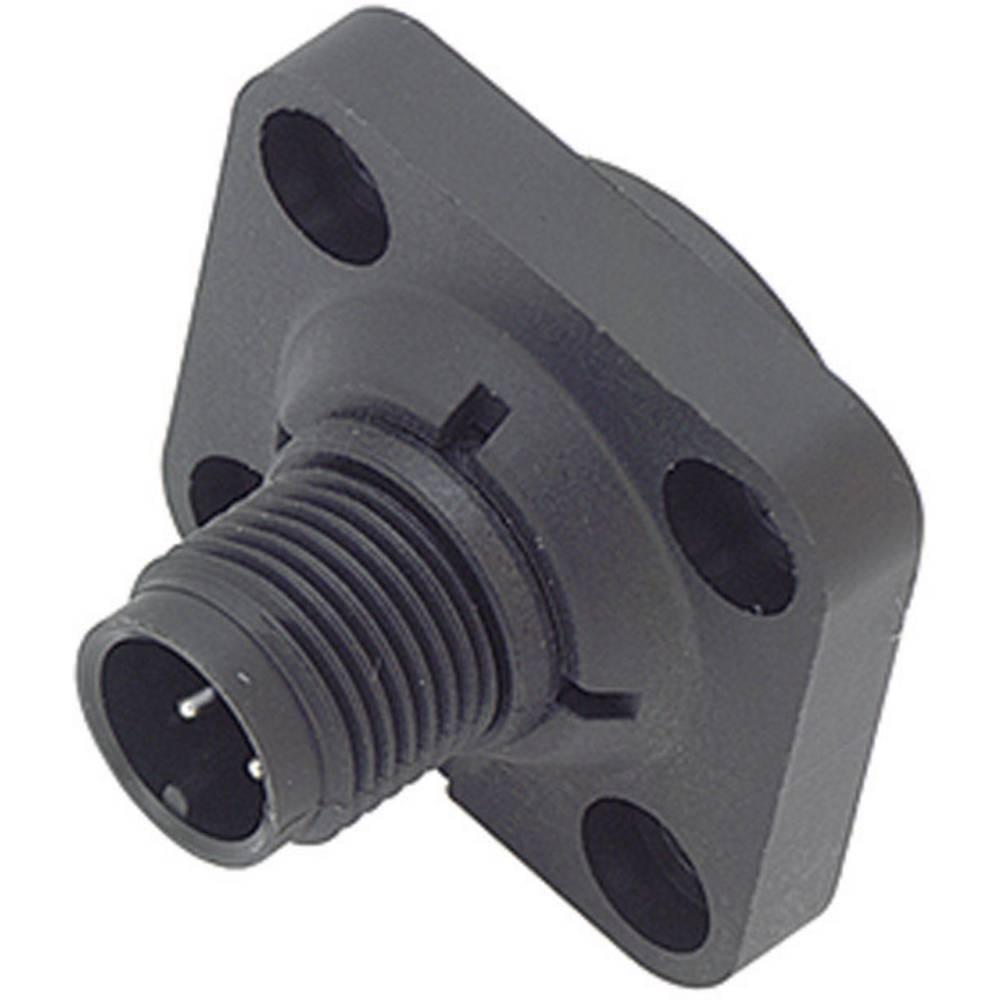 Aktuatorsko-senzorski vtični konektor M12,navojno zapiralo, raven 713-09-0431-16-04 Binder