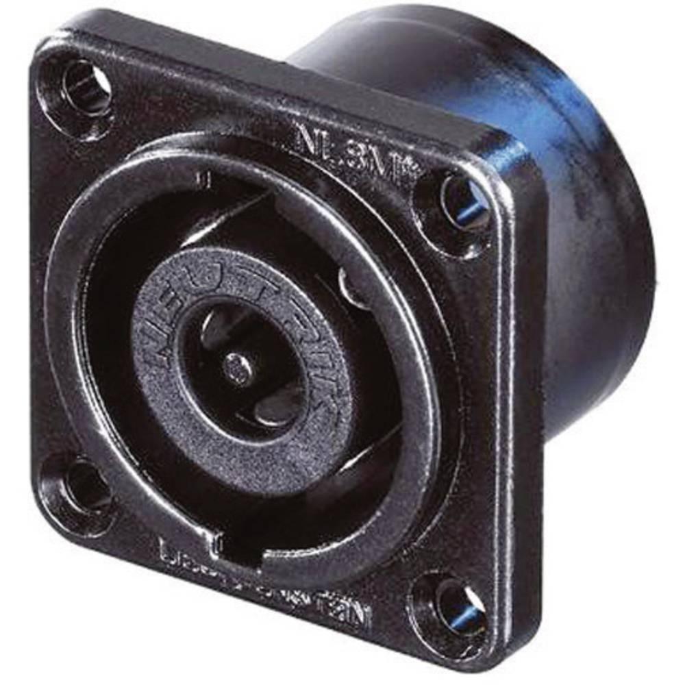 Konektor Speakon, raven, št.polov:8 NL8MPR-BAG Neutrik