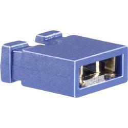 Kortslutningsbro Rastermål: 2.54 mm Poltal hver række:2 BKL Electronic 10120908 Indhold: 1 stk