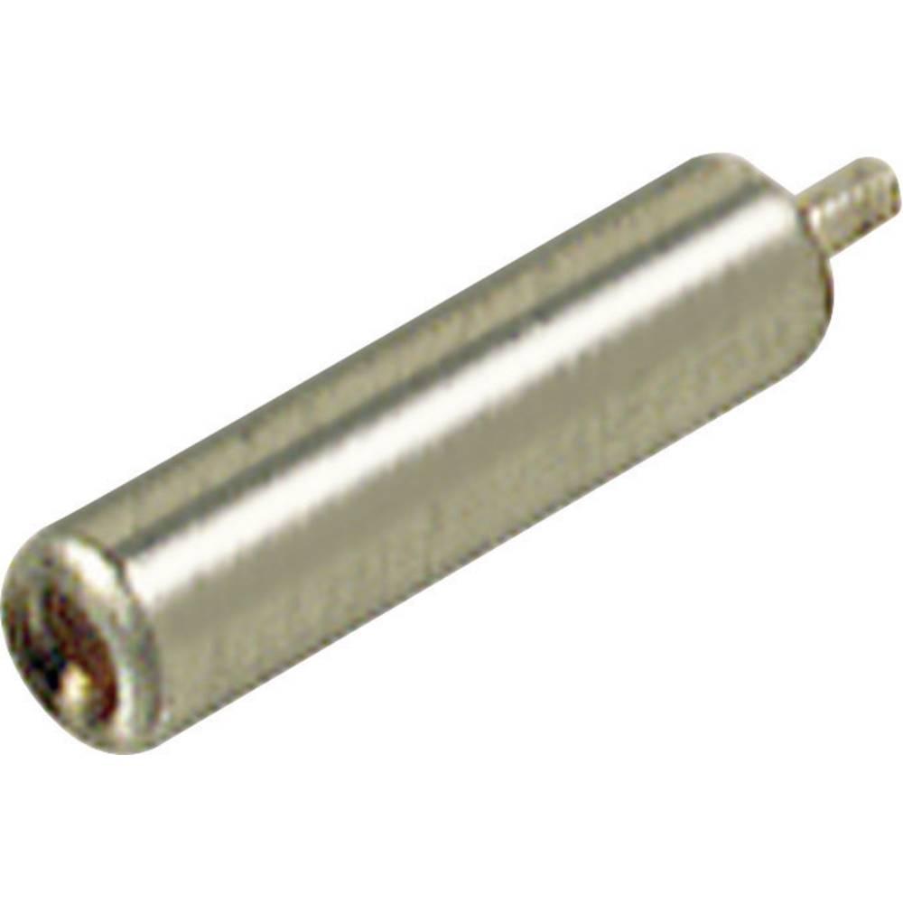 Miniaturelaboratorie-tilslutning Tilslutning, indbygning lodret SKS Hirschmann MBU 2 2 mm Metal 1 stk