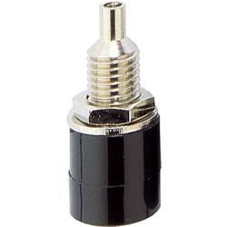 Laboratorijska utičnica, promjer kontakta: 4 mm crne boje TRU Components 1 kom.
