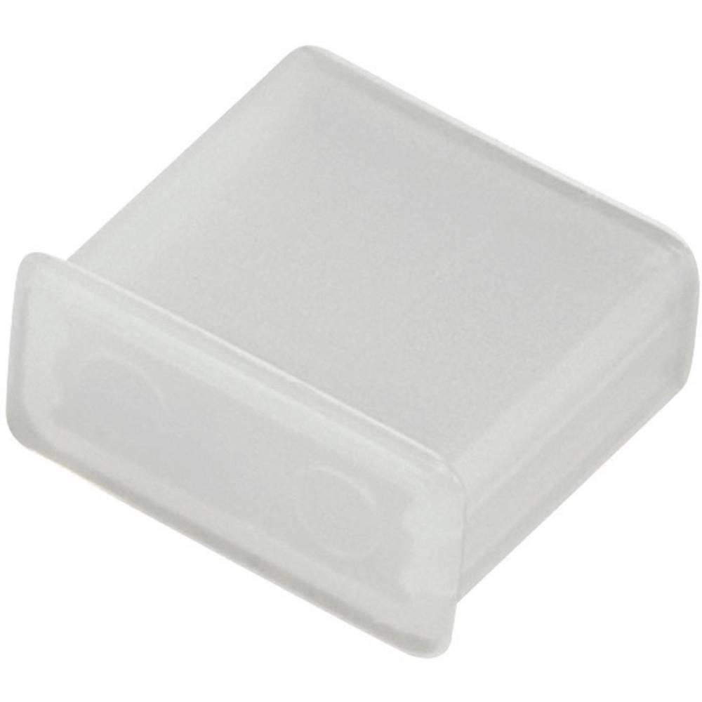 Univerzalni USB-pokrovček za zaščito pred prahom, prozoren
