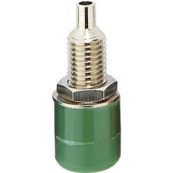 Laboratorijska utičnica, promjer kontakta: 4 mm zelene boje TRU Components 1 kom.
