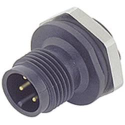 Sensor- /aktor-stikforbinder til indbygning M12 Stik, lige Pol-tal (RJ): 4 Binder 09-0431-87-04 1 stk