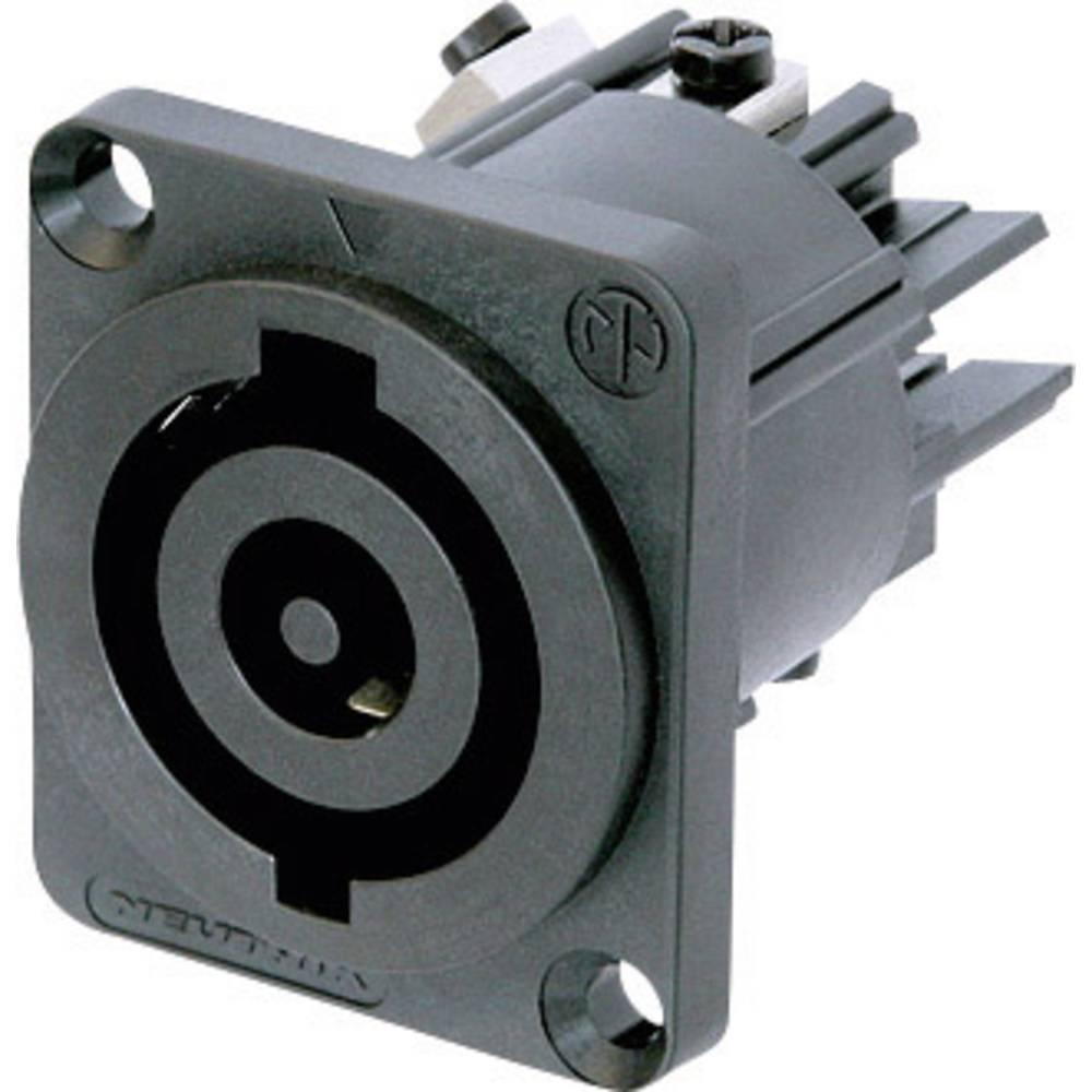 Strømstik Serie (netstik) NAC Tilslutning, indbygning lodret Samlet poltal: 2 + PE 32 A Sort Neutrik NAC3MP-HC 1 stk