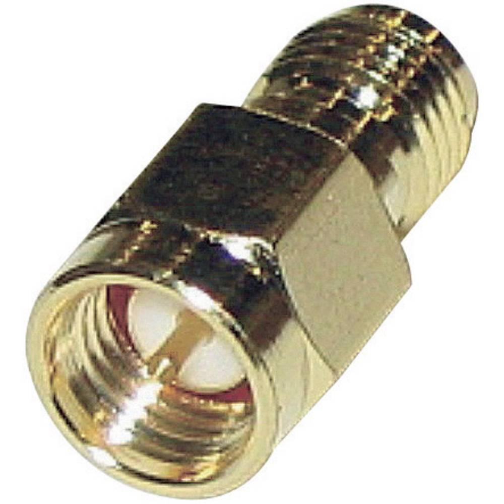 SMA-adapter SMA-Stecker (value.1390692) - SMA-Reverse-Buchse (value.1390896) BKL Electronic 0419102 1 stk