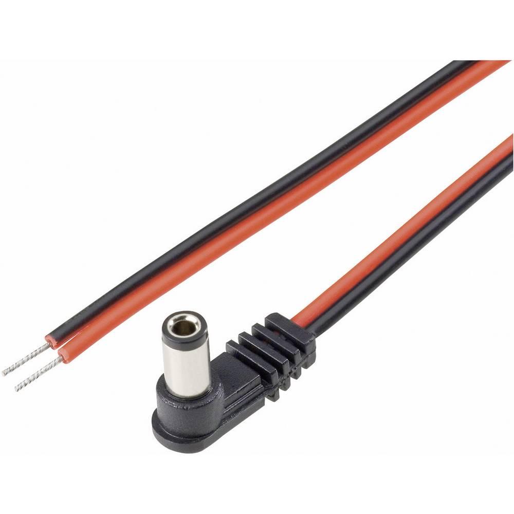 Lavvoltstilslutningskabel Niedervolt-Stecker (value.1390842) - Kabel, offenes Ende (value.1390689);5.5 mm;2.5 mm;2.5 mm;BKL Elec