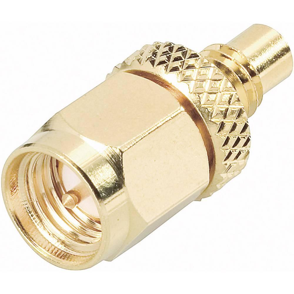 Adapter SMC-vtičnica / SMA-vtič, 50 ? SMC-vtičnica na SMA-vtič 414084 BKL Electronic