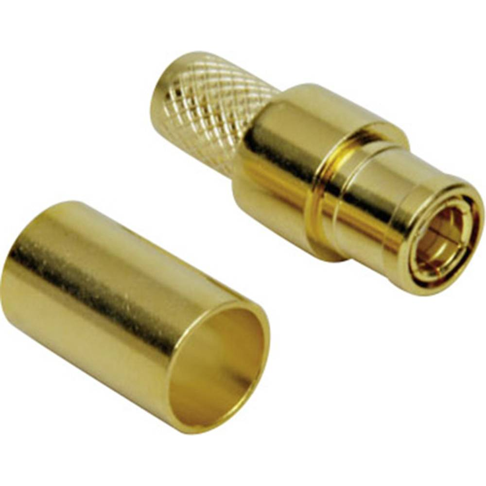 SMB-reverse-stikforbindelse BKL Electronic 0419201 50 Ohm Stik, lige 1 stk