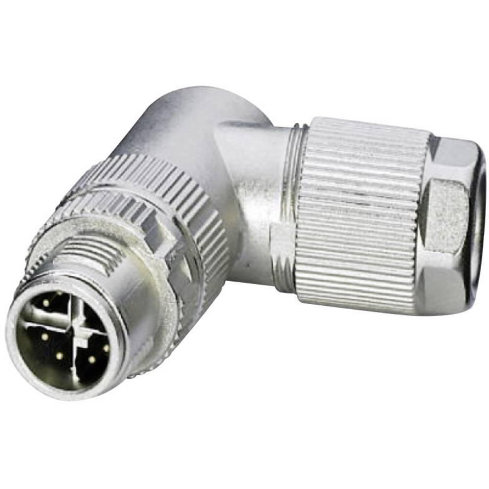 Ethernet M12-Konektor - CAT 6A, kotni vtič, št. polov: 8 VS-08-M12MR-10G-P SCO, Phoenix Co 1417443 Phoenix Contact
