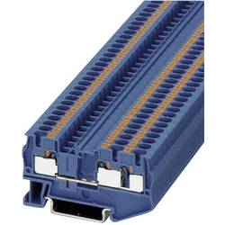 Push-In stezaljka za 3 vodiče PT-TWIN PT 4-TWIN BU Phoenix Contact plave boje, sadržaj: 1 kom.