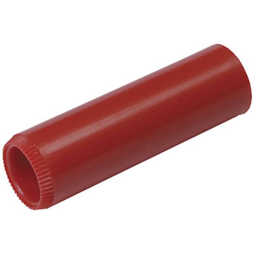 Laboratorietilslutning Tilslutning, lige SKS Hirschmann KUN 10 RT 4 mm Rød 1 stk