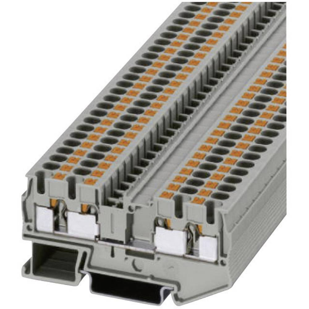 Push-i fire-wire terminaler PT-QUATTRO PT 4-QUATTRO Phoenix Contact Grå Indhold: 1 stk