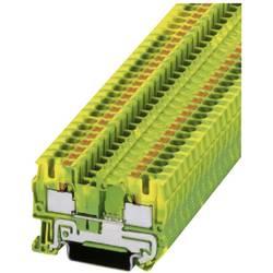 Push-In stezaljka sa zaštitnim vodičem PT-PE PT 4-PE Phoenix Contact zeleno-žute boje, sadržaj: 1 kom.
