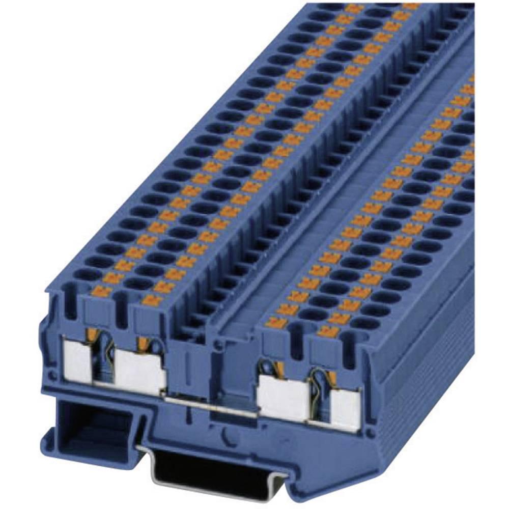 Push-i fire-wire terminaler PT-QUATTRO PT 4-QUATTRO BU Phoenix Contact Blå Indhold: 1 stk