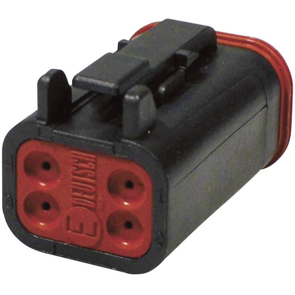 Konektor Deutsch serije DT, DT 06-4 S-CE06, nazivni tok: 13A, poli: 4, vsebina: 1 kos